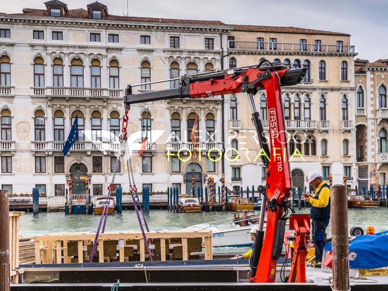 Progetto Industriale Venezia con Fassi Gru